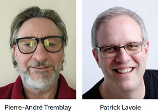 Pierre-André Tremblay et Patrick Lavoie